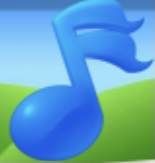 Blue Music Note Family Farm Seaside