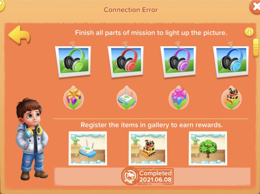 Conncetion Error Mission Family Farm Seaside