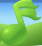 Green Music Note Family Farm Seaside