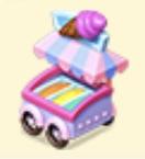 Ice Cream Cart Family Farm Seaside