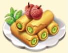 Matcha Lychee Pancake Family Farm Seaside