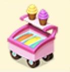 Mini Ice Cream Cart Family Farm Seaside