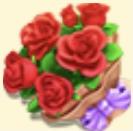 Red Rose Bouquet Family Farm Seaside