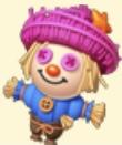 Scarecrow Toy Family Farm Seaside